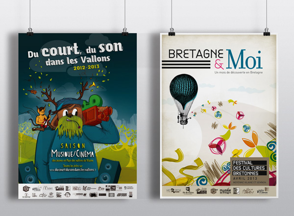 Affiches Communication
