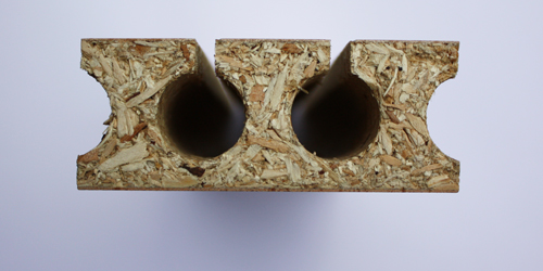Antisone agglo h tre etuv design en bretagne for Porte ame tubulaire