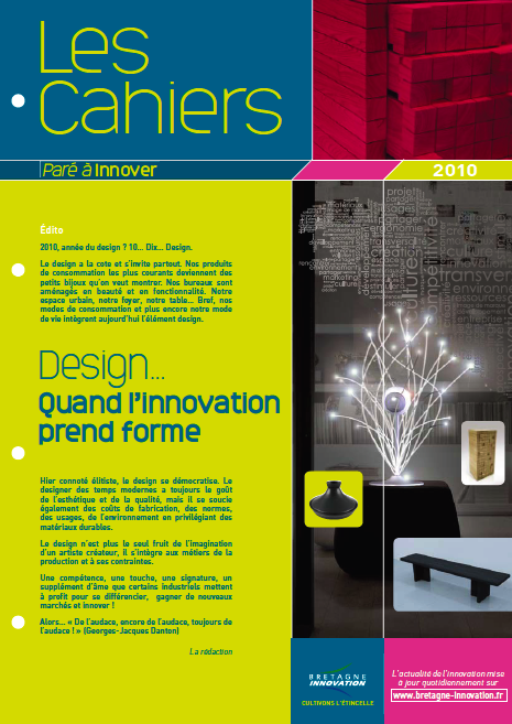 Dossier design Bretagne innovation