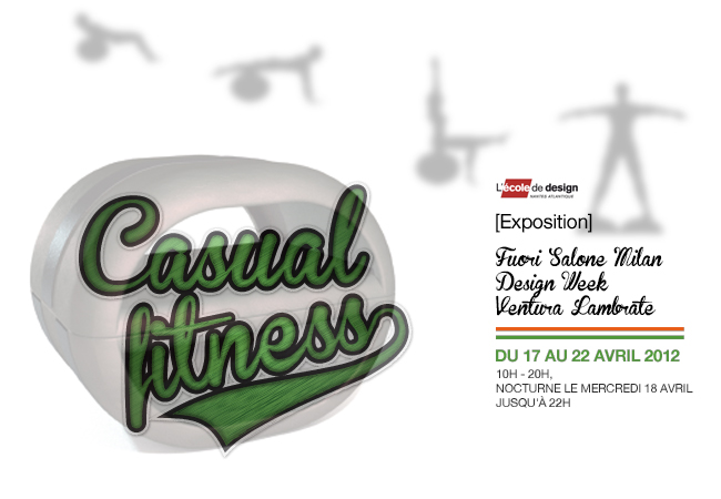 SALONE DEL MOBILE MILANO : CASUAL FITNESS