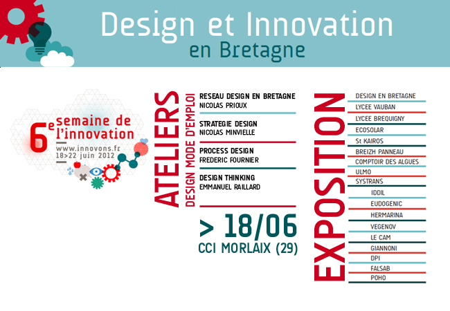 JOURNEE DESIGN & INNOVATION @ MORLAIX