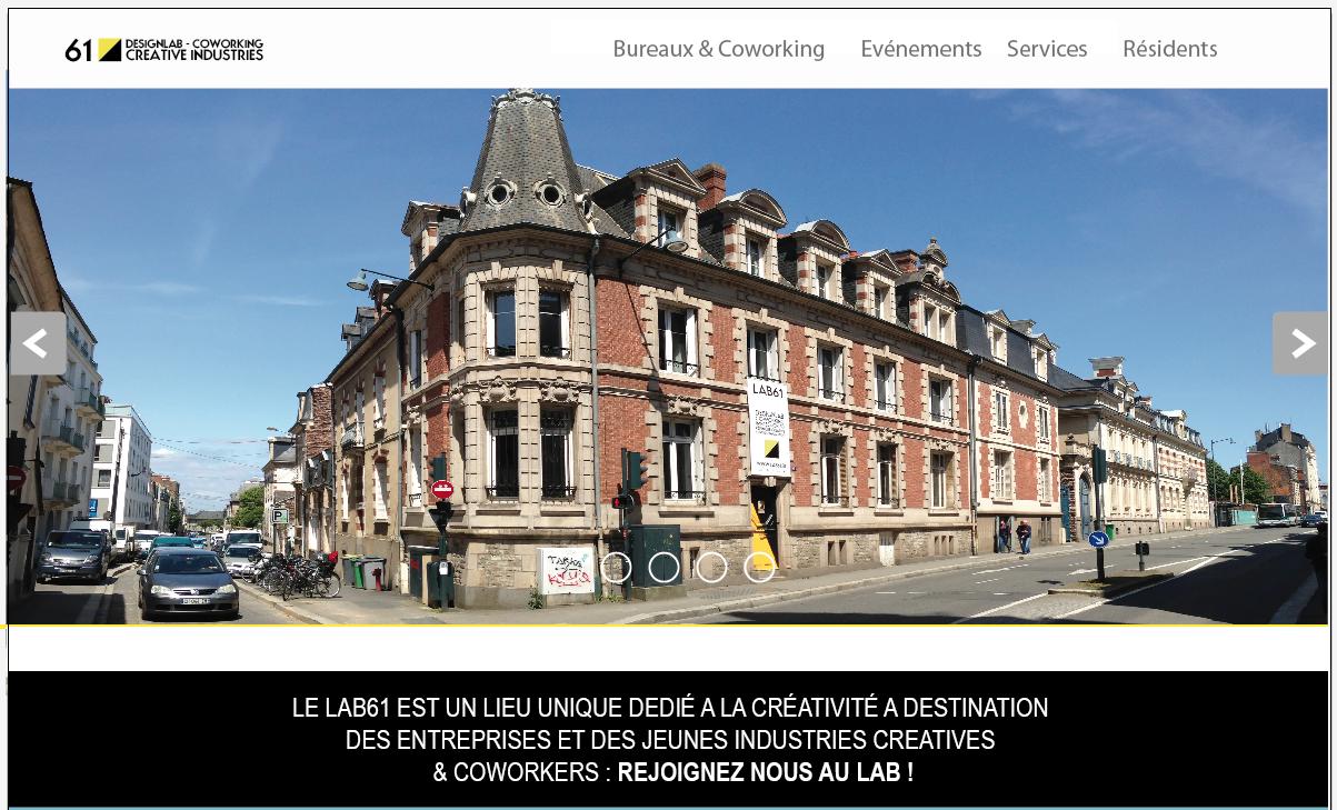 visuel lab new website