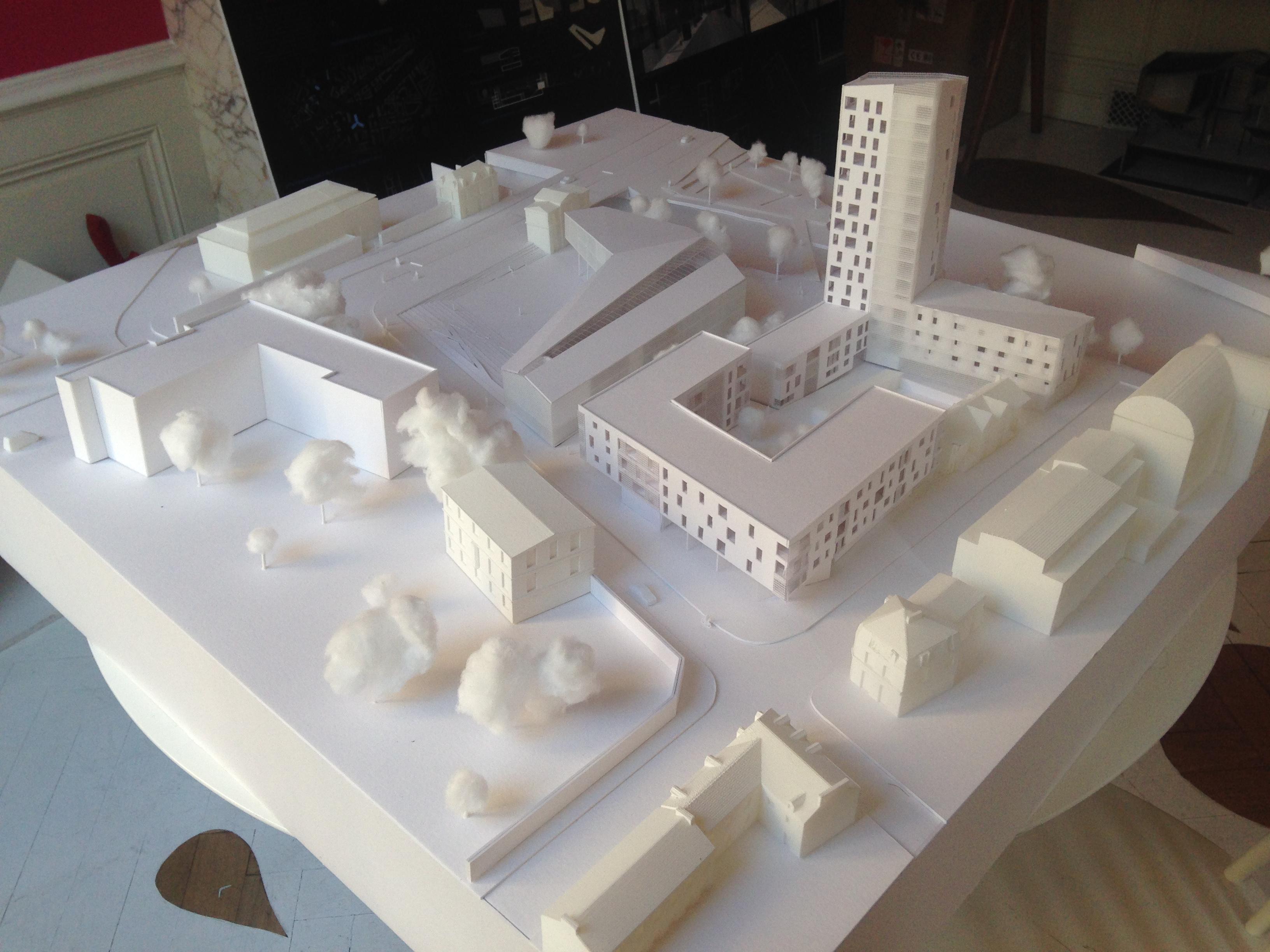 Maquette imprimante 3D LAB61