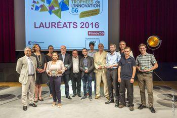 Lauréats_ Trophée de l'innovation de la CCI du Morbihan 2016
